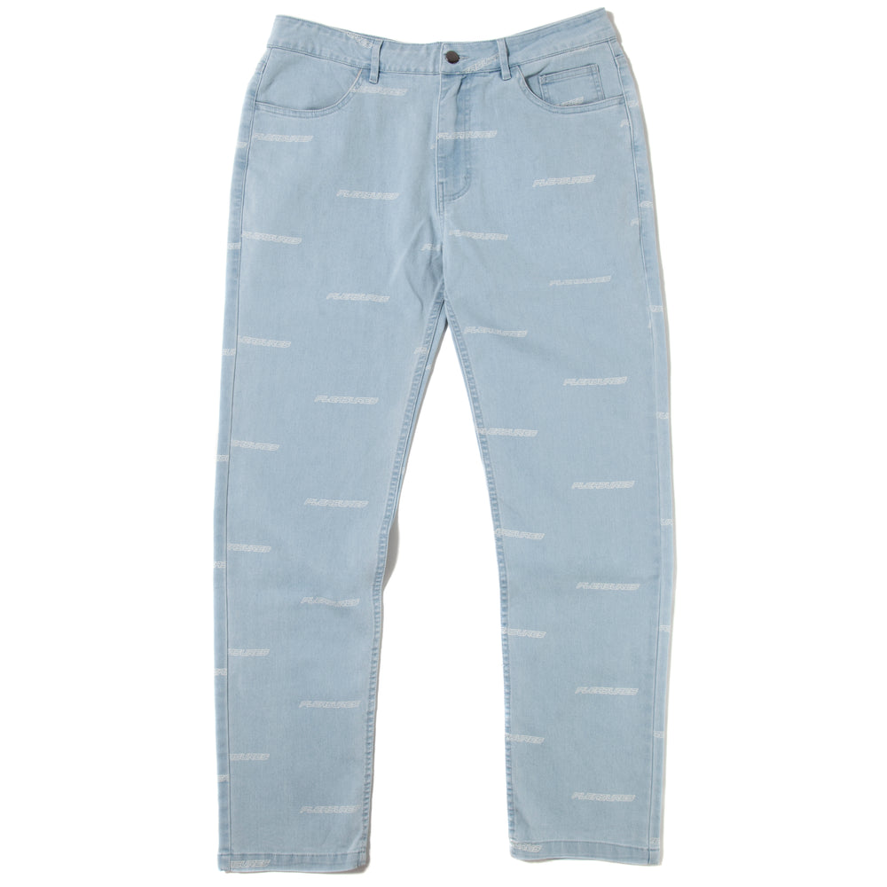 Pleasures Typhoon Denim Pant / Blue - Deadstock.ca
