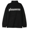 Pleasures Harmony Quarter Zip Sweater / Black