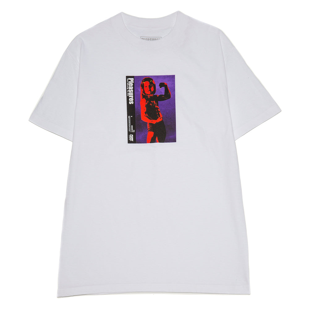 Pleasures 2 Strong 2 Die T-shirt / White
