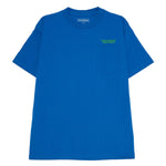 Pleasures Balance Embroidered Pocket T-shirt / Royal