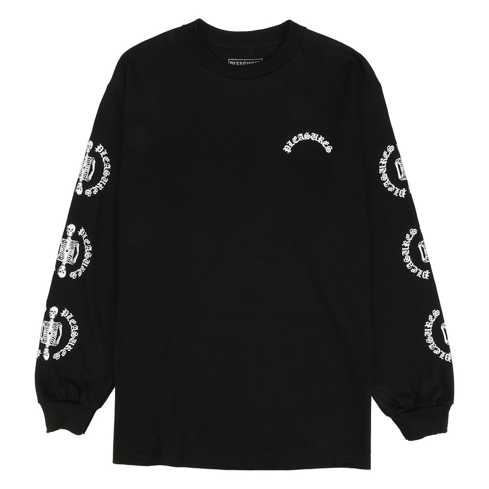 Pleasures Ritual Long Sleeve T-shirt / Black