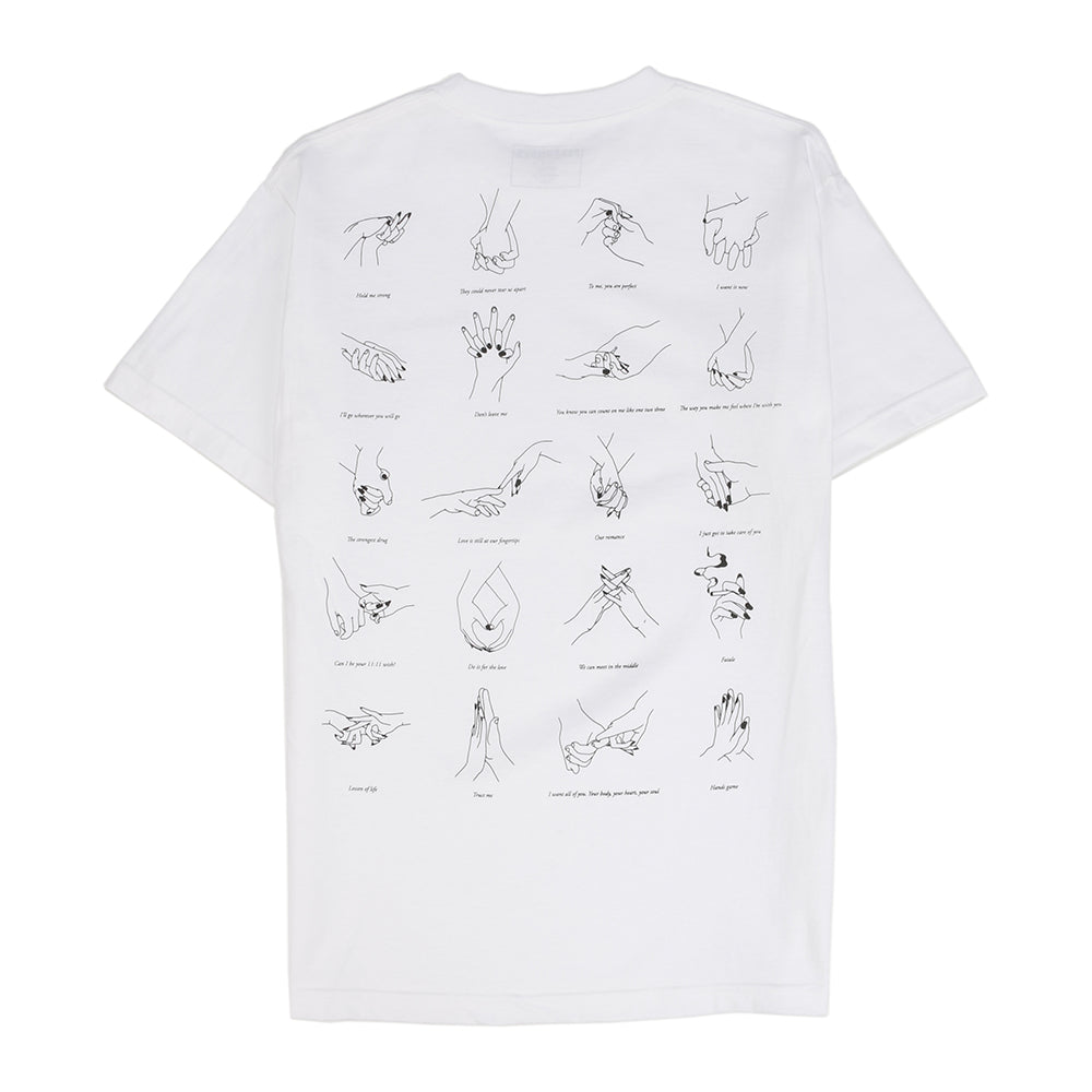 Pleasures Touch T-shirt / White