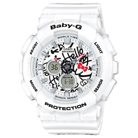 G-SHOCK BABY G X HELLO KITTY / WHITE