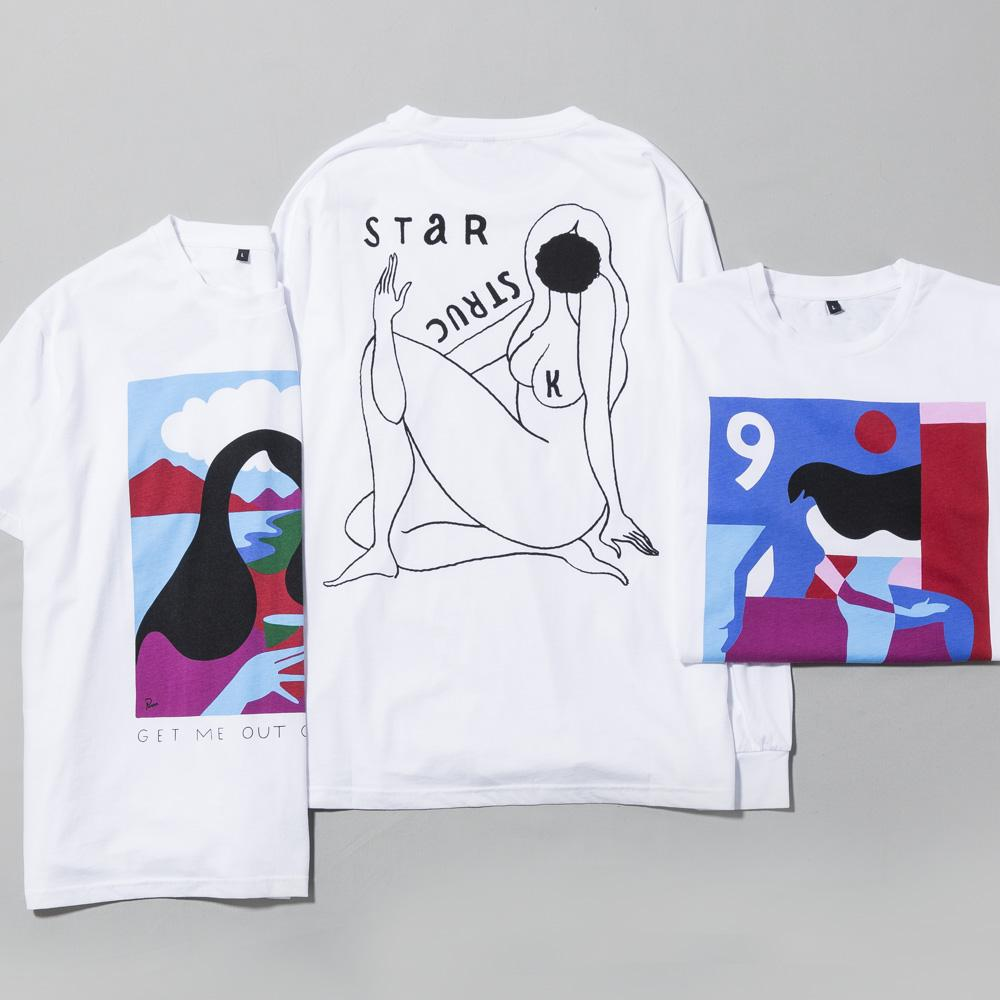 BY PARRA GET ME OUT OF HERE T-SHIRT / WHITE