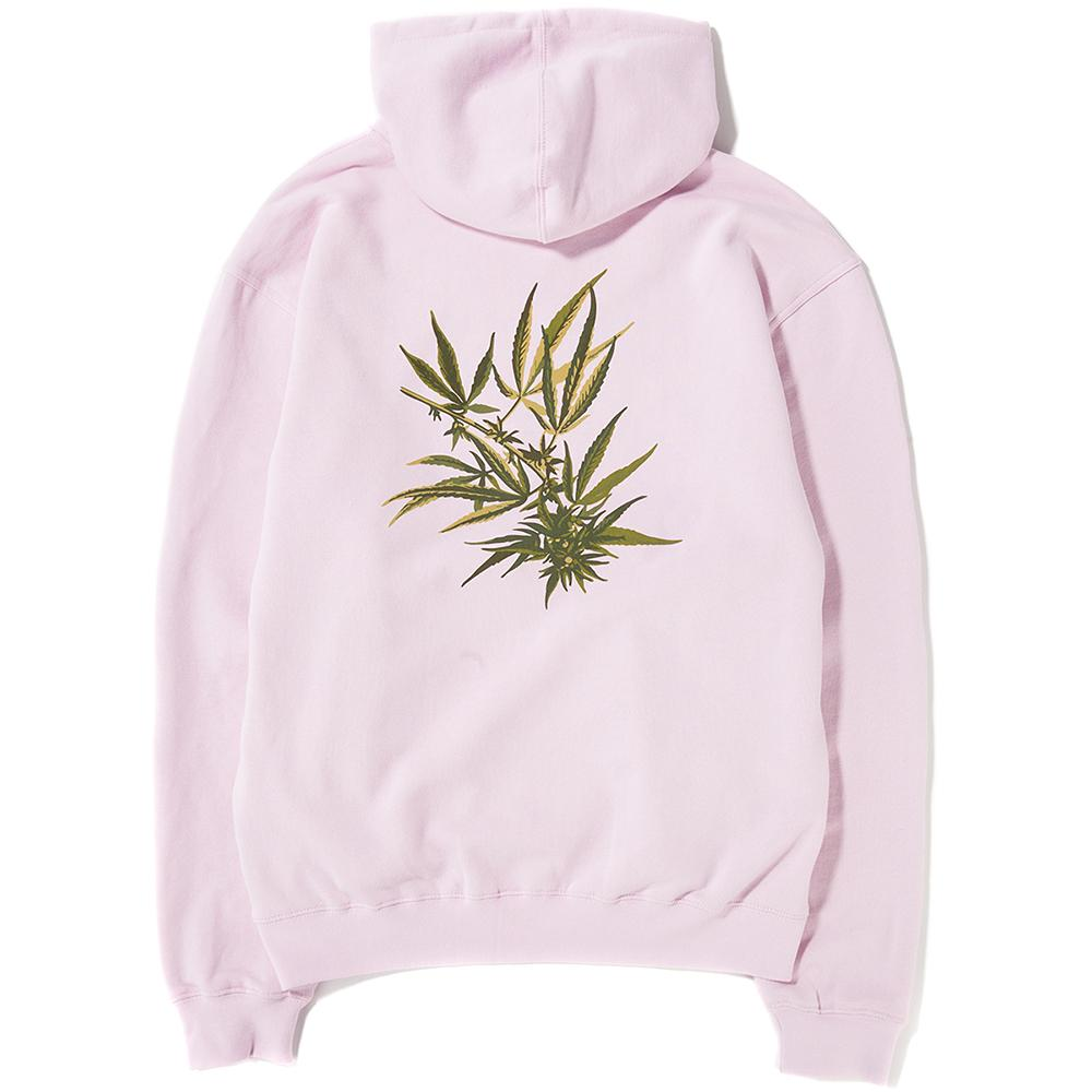 Style code PF00106. Huf Tropical Plants Pullover Hoodie / Pink