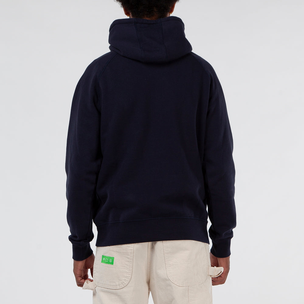 Pop Trading Company Royal O Pullover Hoodie / Navy - Deadstock.ca