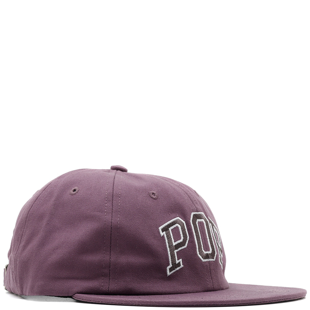 Pop Trading Company Arch 6 Panel Hat / Violet