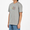 Pop Trading Company Ringer T-shirt / Heather Grey