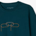 Pop Trading Company Missing Link T-shirt / Dark Teal