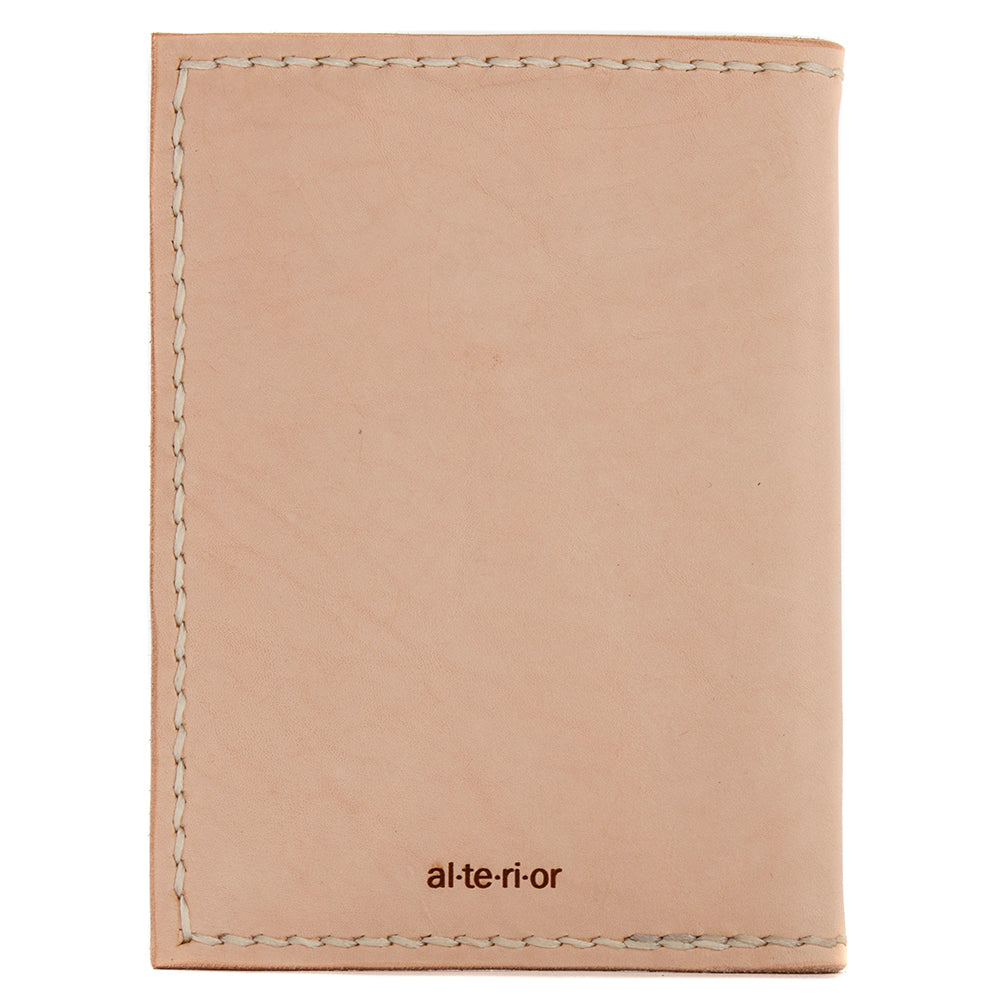 Alterior PR-006 Passport Wallet / Natural - Deadstock.ca