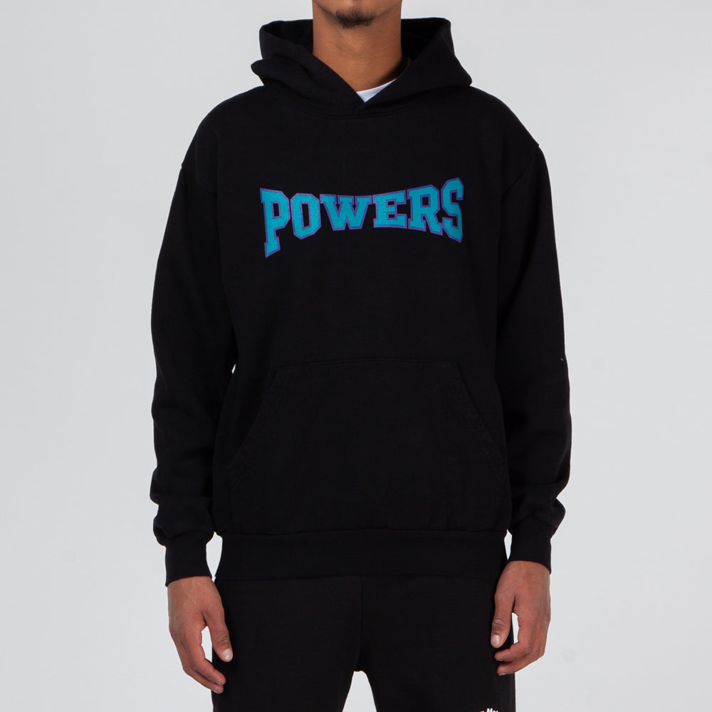 Powers D5 Arch Logo Pullover Hoodie / Black