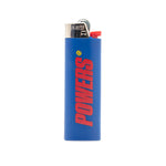 Powers Bic Lighter / Blue