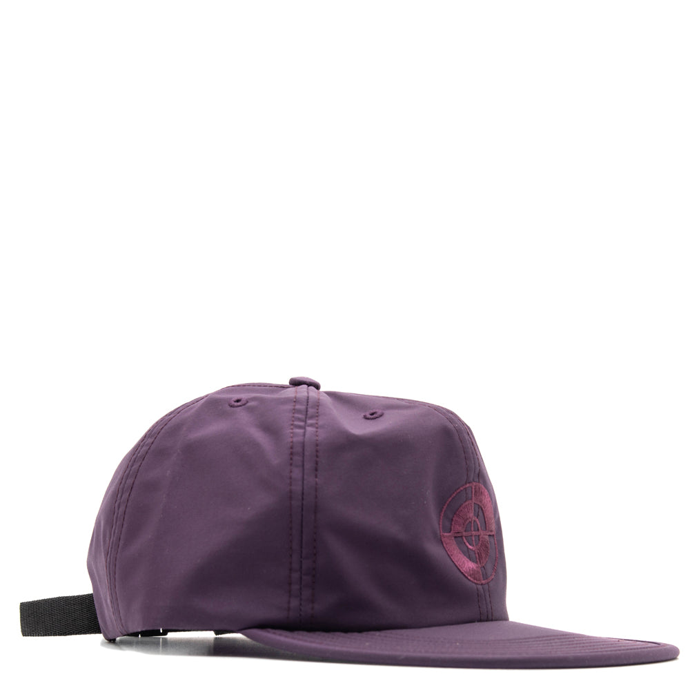 Powers Target Tech Nylon Cap / Plum