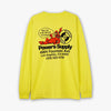 Powers Powers Shop Long Sleeve T-shirt / Safety Yellow