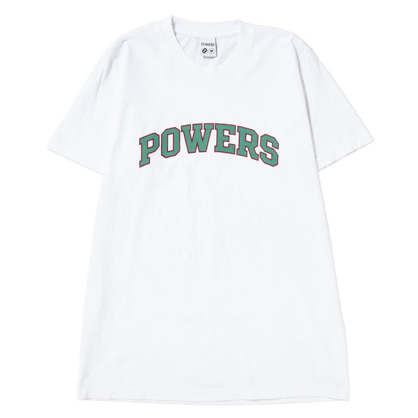 Style code PWRS402. Powers Arch T-shirt / White