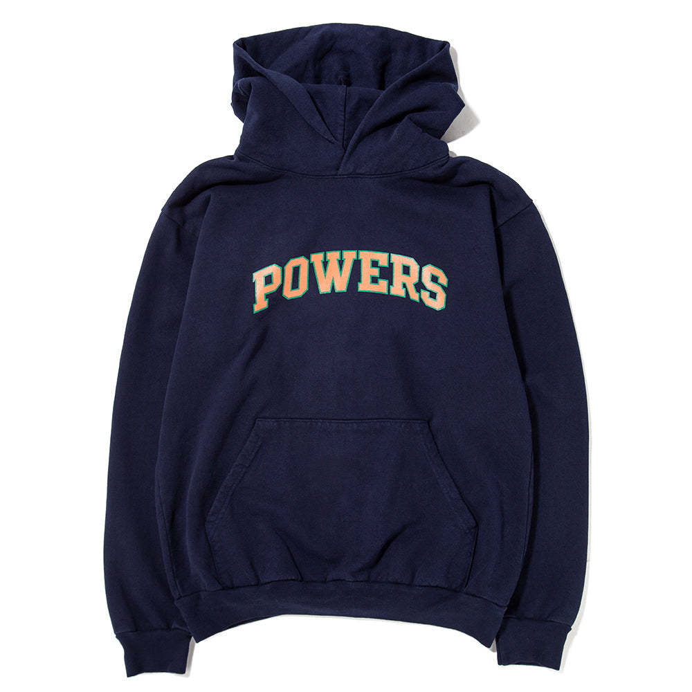 Style code PWRS407. Powers Arch Pullover Hoodie / Navy