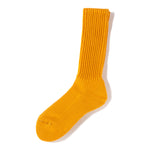 RoToTo Loose Pile Socks / Yellow - Deadstock.ca