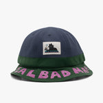 Real Bad Man Duo Toned Bucket Hat Blue / Green