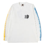 Real Bad Man Volume 4 Tie Dye Long Sleeve T-shirt / White