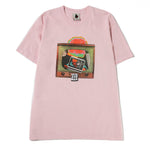 Real Bad Man Atomic TV T-shirt / Pink