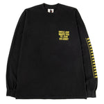 Real Bad Man Uncle Jam Tribute Long Sleeve T-shirt / Black