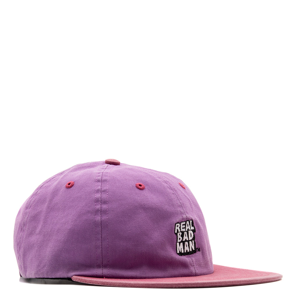 Real Bad Man RBM Washed Out 6 Panel / Purpink