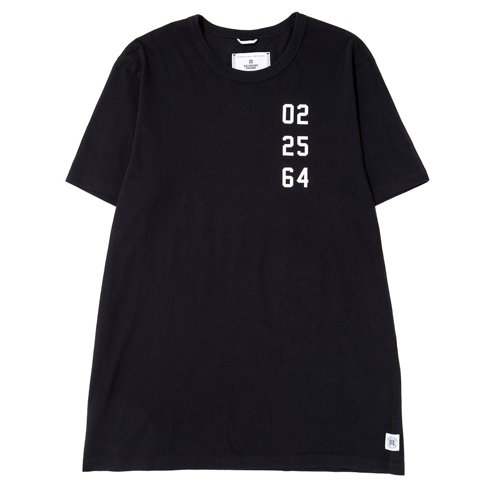 Style code RC1132FW18BLK. Reigning Champ Fight Night Ringspun Jersey T-shirt / Black