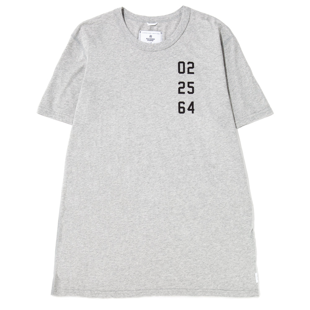 Style code RC1132FW18HGR. Reigning Champ Fight Night Ringspun Jersey T-shirt / Heather Grey