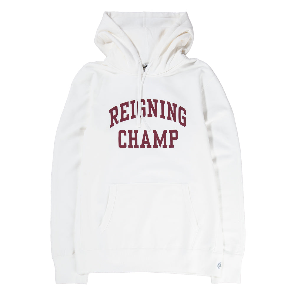 Style code RC3492FW18WHT. Reigning Champ Ivy League Pullover Hoodie / Winter White