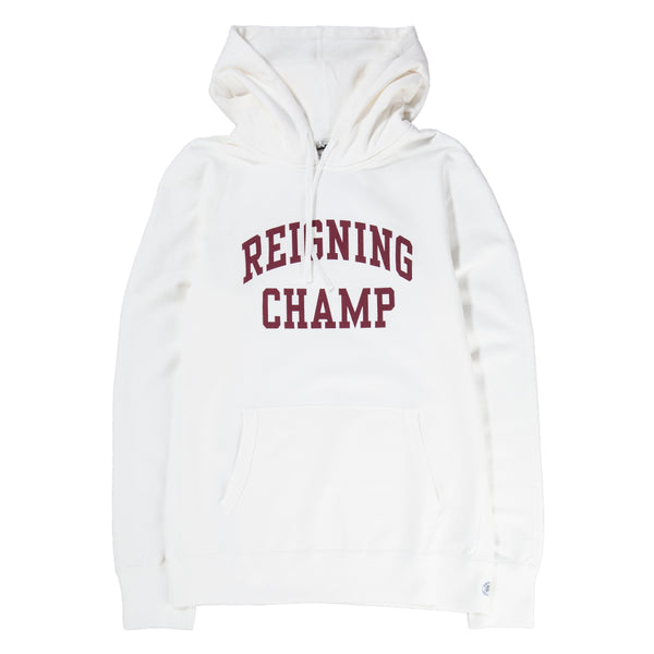 Reigning Champ Ivy League Pullover Hoodie / Winter White