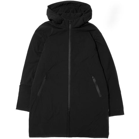 style code RC4088FW17. REIGNING CHAMP INSULATED SIDELINE STRETCH NYLON JACKET / BLACK