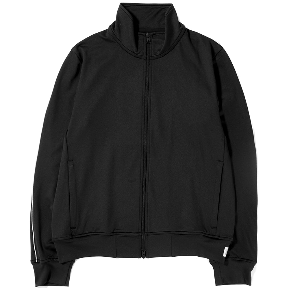 Style code RC4104S18BLK. REIGNING CHAMP TRACK JACKET COOL MAX TERRY / BLACK