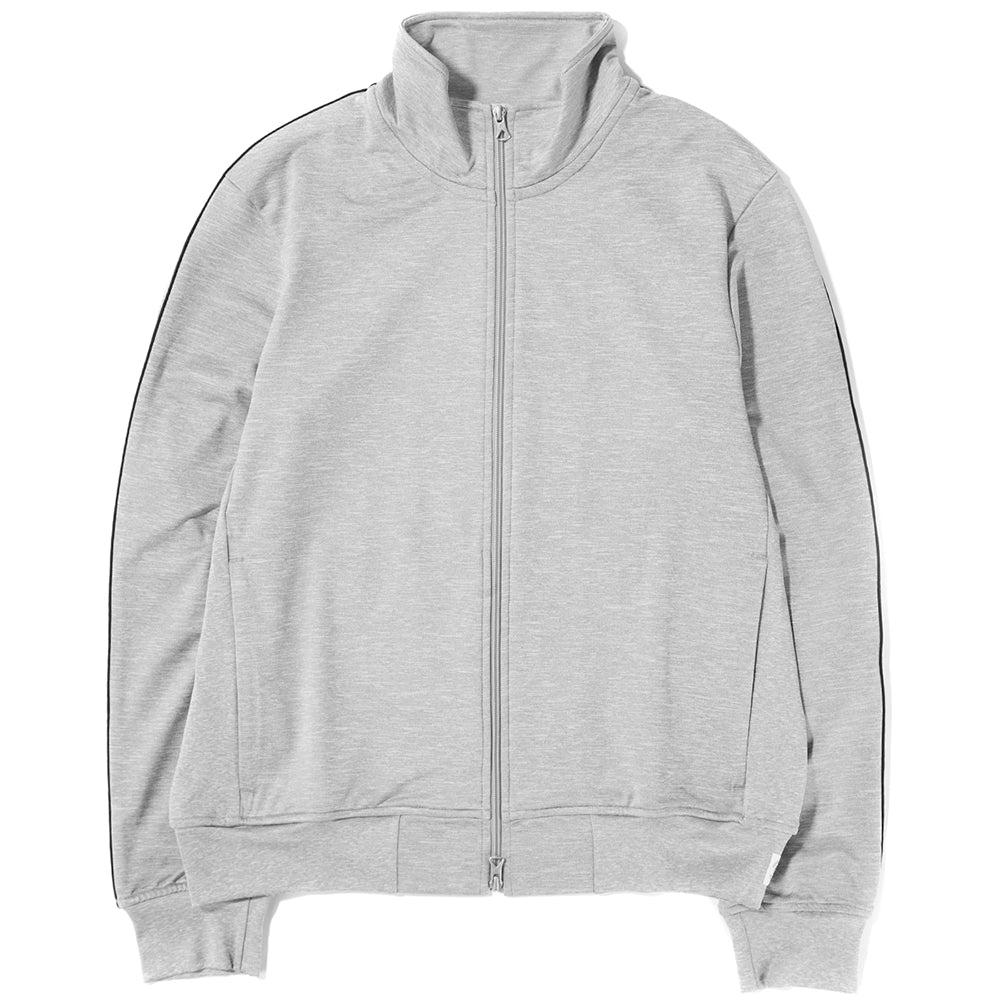 Style code RC4104S18GRE. REIGNING CHAMP TRACK JACKET COOL MAX TERRY / GREY
