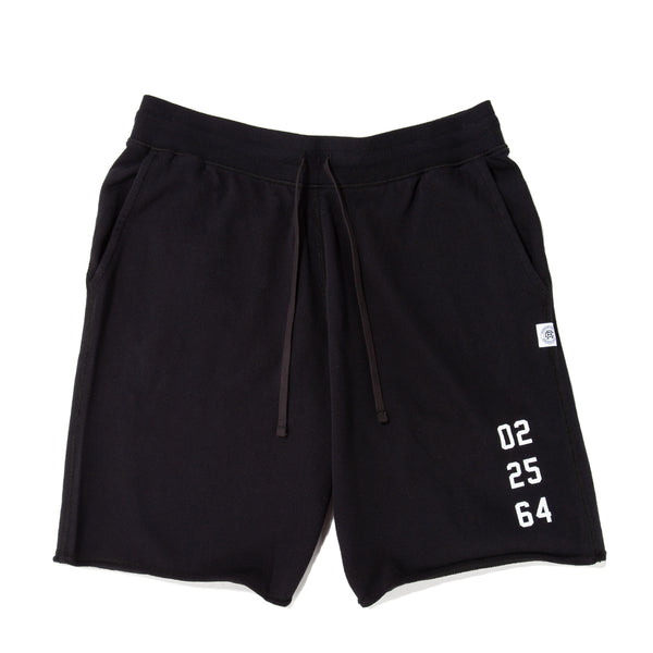 Style code RC5153FW18BLK. Reigning Champ Fight Night Cut Off Shorts / Black