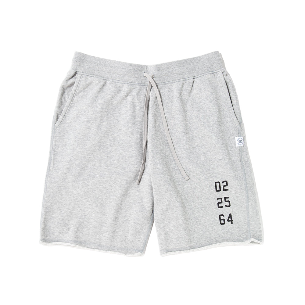 Style code RC5153FW18HGR. Reigning Champ Fight Night Cut Off Shorts / Heather Grey