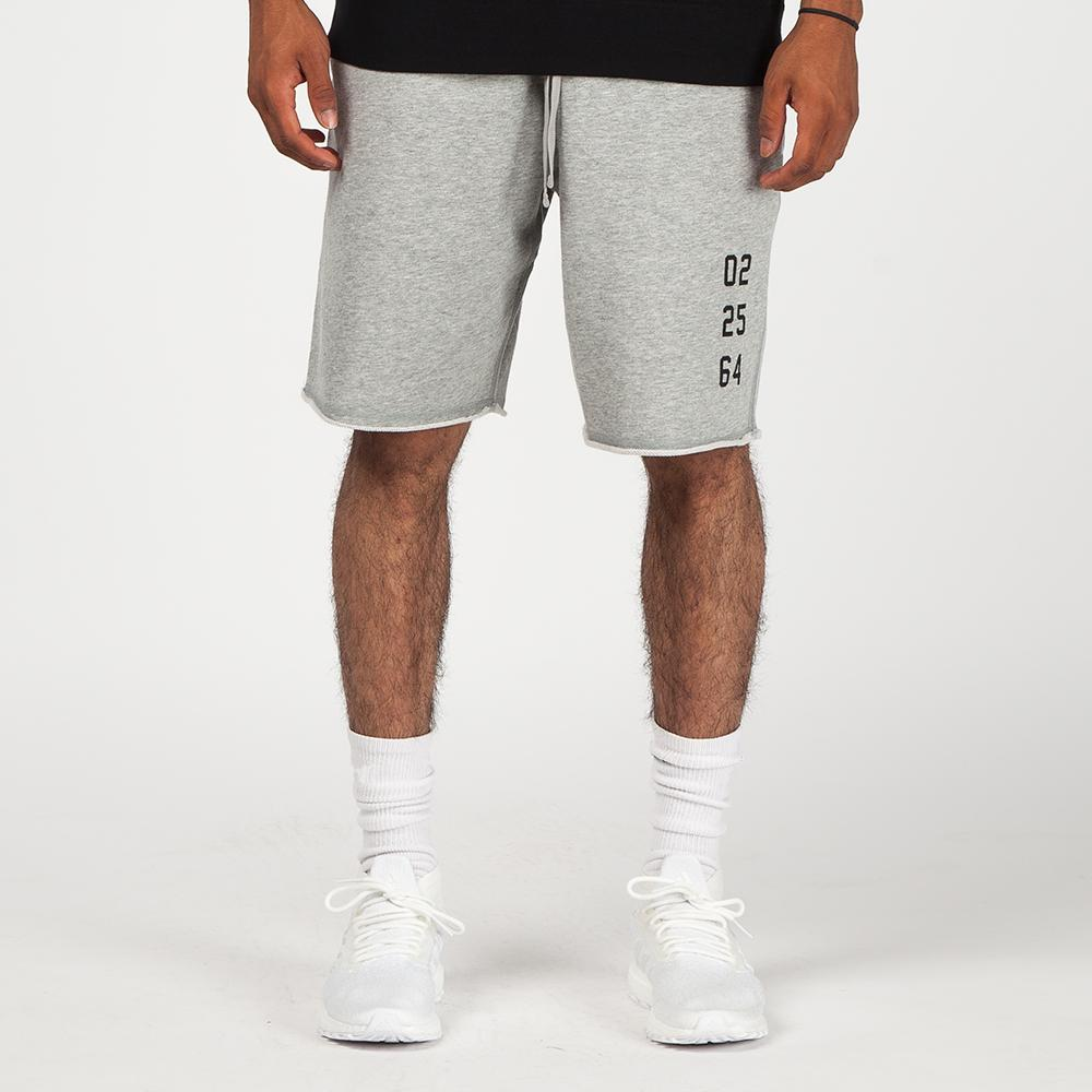 Reigning Champ Fight Night Cut Off Shorts / Heather Grey