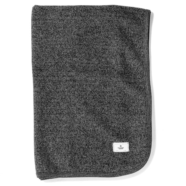 Reigning Champ Stadium Tiger Fleece Blanket / Black