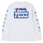 Reception S.C. Dom Peixe Long Sleeve T-shirt / White