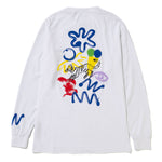 Reception S.C. Muderacks Long Sleeve T-shirt / White