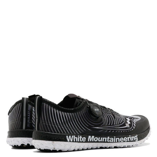 Saucony x White Mountaineering Switchback ISO Black / White