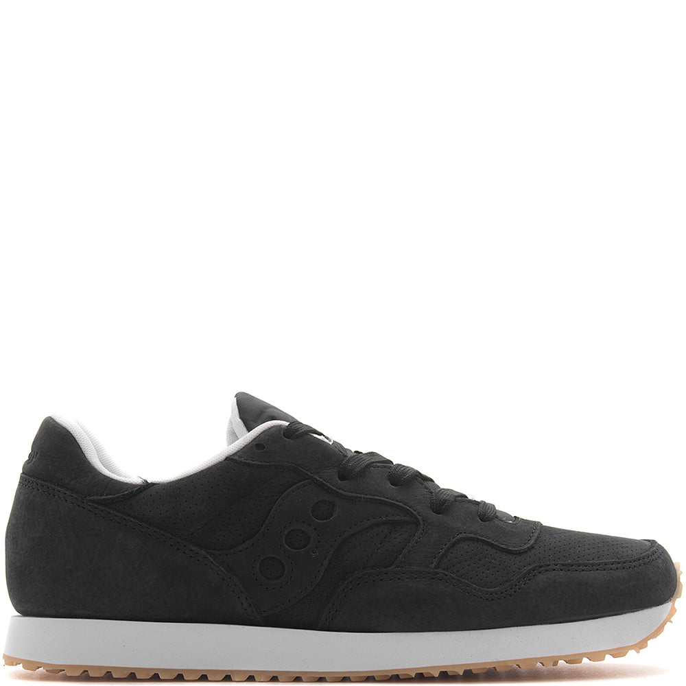 style code S70360-1. SAUCONY DXN TRAINER CL NUBUCK / BLACK