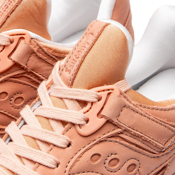 Style code S70415-3. Saucony Grid 8500 Burnished Industrial Peach / White