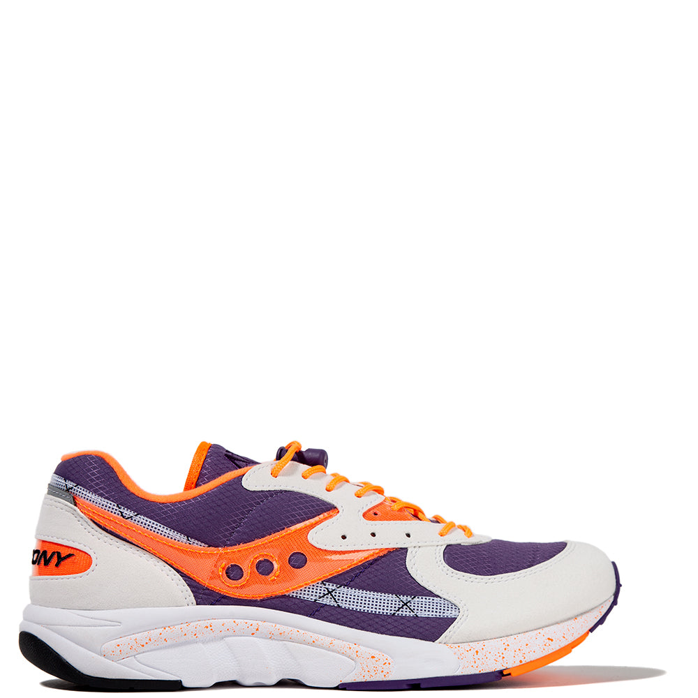 Saucony Aya White / Purple - Deadstock.ca