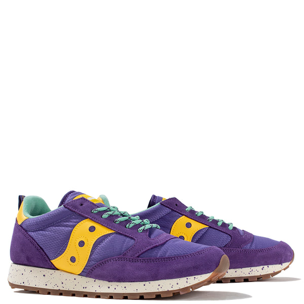 Saucony Jazz Original Climbing Purple / Yellow - Deadstock.ca