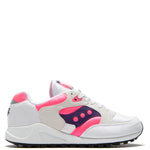 Saucony Jazz 4000 White / Pink - Purple