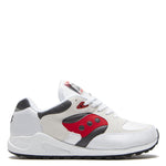 Saucony Jazz 4000 White / Grey - Red