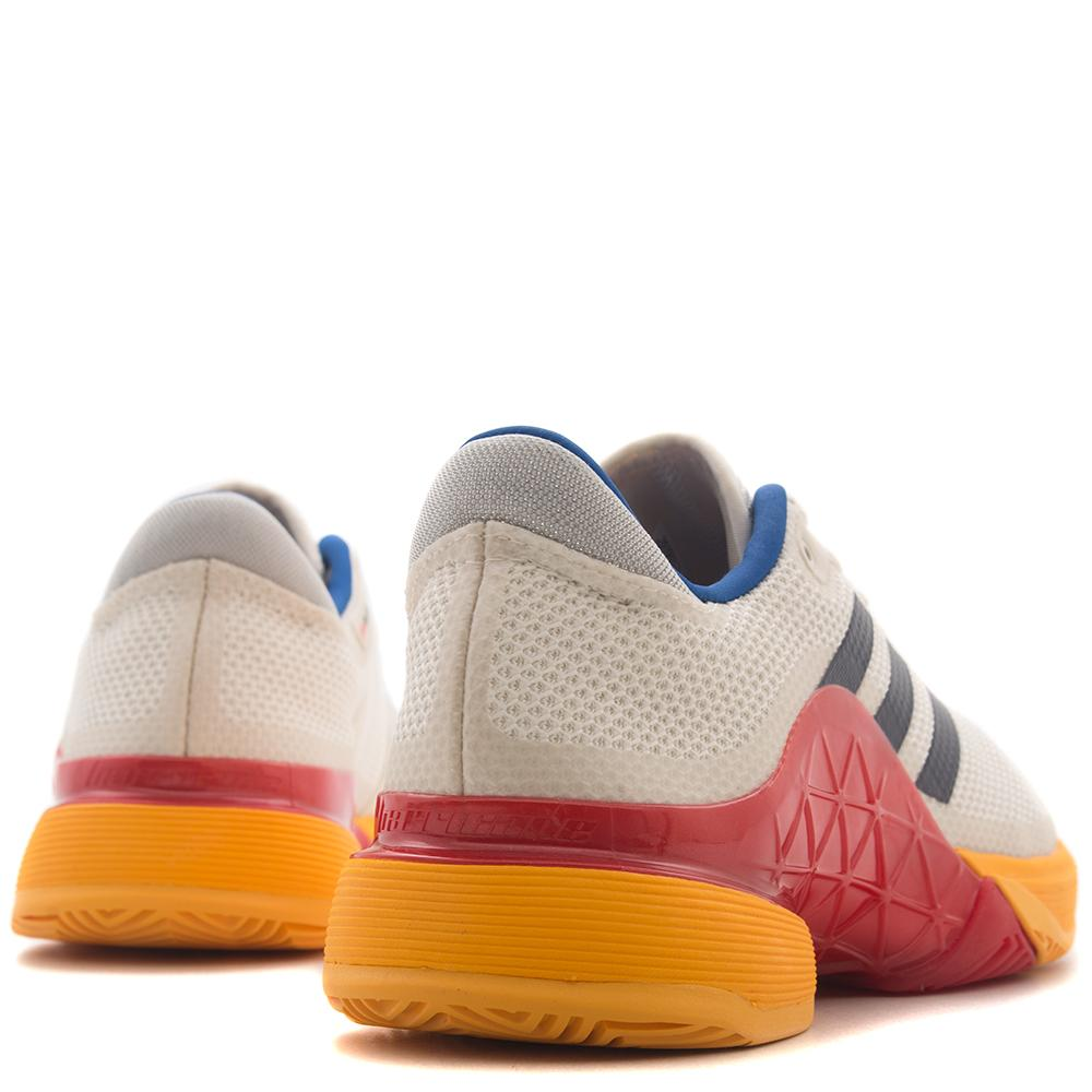 style code S81004. ADIDAS BY PHARRELL WILLIAMS BARRICADE 2017 / CHALK WHITE