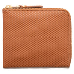 Style code SA3100LG. OMME des GARÇONS Half Zip Wallet Luxury Leather Line / Beige