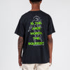 SD19P102 Surf is Dead The Squeeze T-shirt / Black