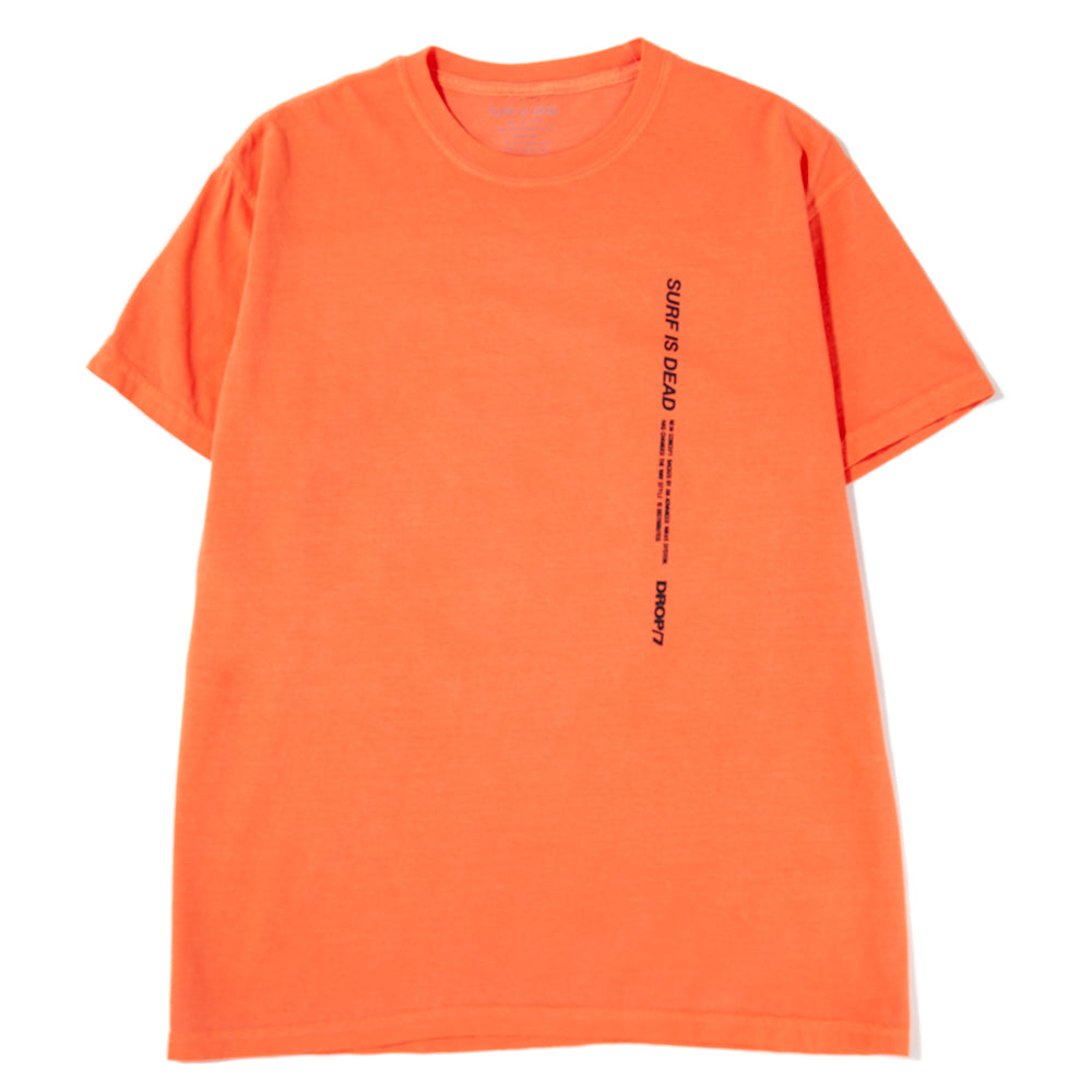 SD19P107 Surf is Dead Goldie T-shirt / Bright Salmon